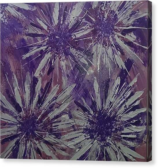 Lilac Garden Canvas Print