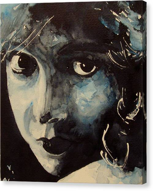 Emotions Canvas Print - Lillian Gish  by Paul Lovering