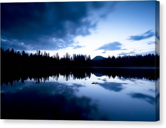 Lilly Lake Canvas Print