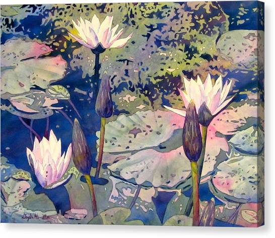 Lilly Pond Canvas Print