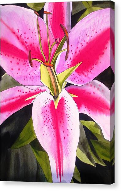 Lily Tenerife Canvas Print by Sacha Grossel