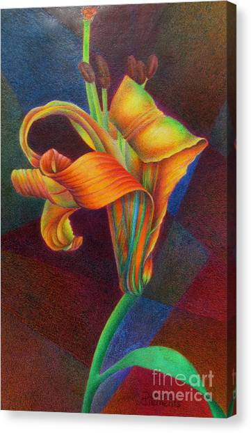 Lily's Rainbow Canvas Print