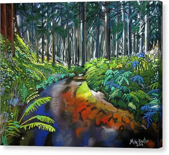 Lime Creek Canvas Print