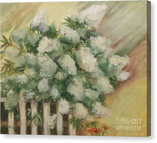 Limelight Canvas Print - Limelight Hydrangea by Marge Casey