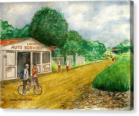 Limon Costa Rica Canvas Print
