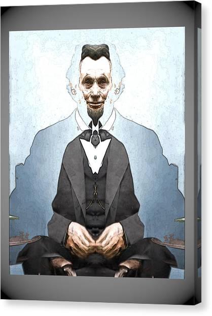 Lincoln Childlike Canvas Print