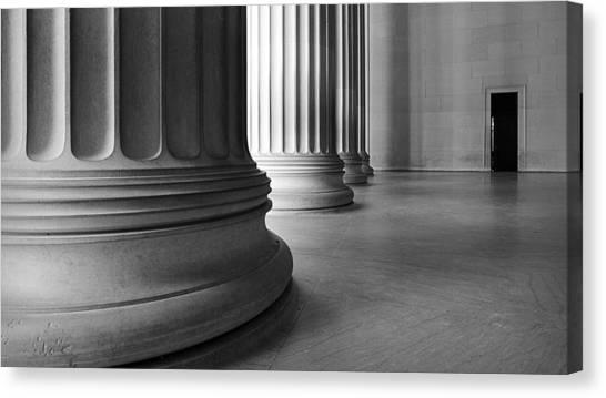 Lincoln Columns Canvas Print