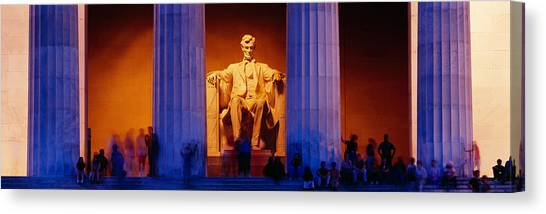 Lincoln Memorial Canvas Print - Lincoln Memorial, Washington Dc by Panoramic Images