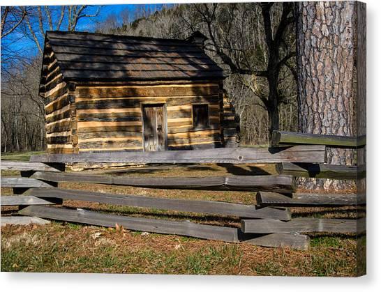 Lincoln's Boyhood Home Canvas Print