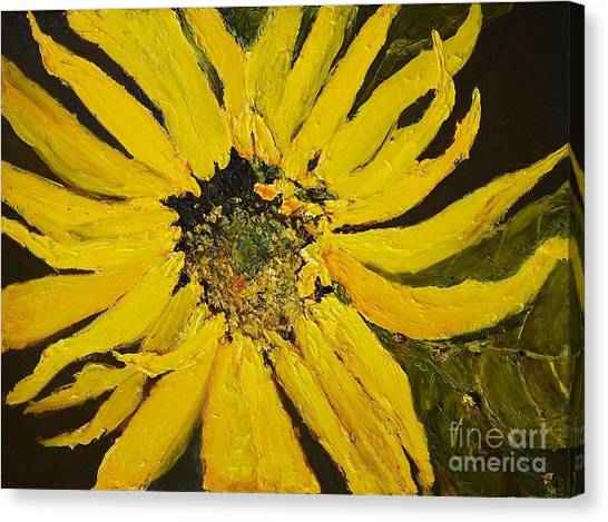 Linda's Arizona Sunflower 2 Canvas Print
