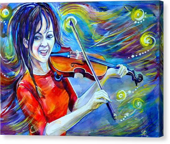 Lindsey Stirling Magic Canvas Print