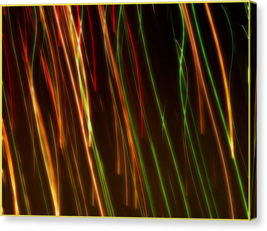 Line Light Canvas Print
