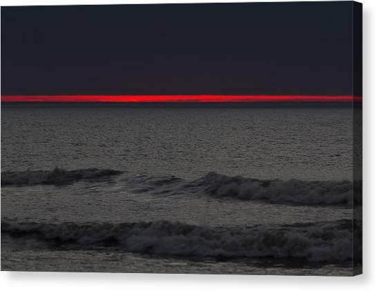 Line Of Fire Canvas Print