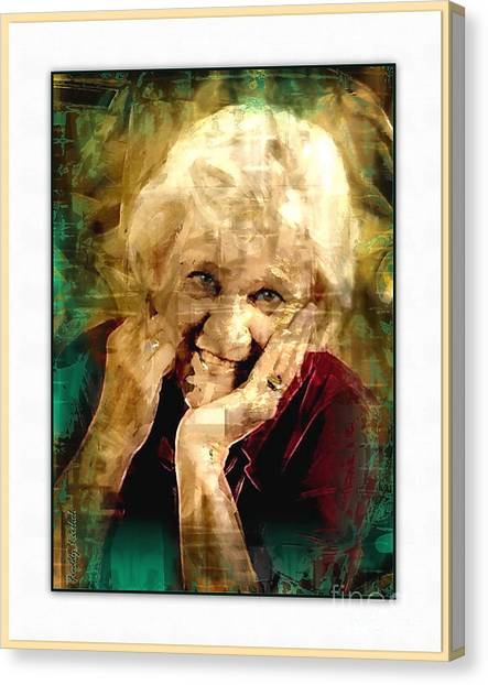 Line Of Life Experiences.. Canvas Print by Sharon Burger