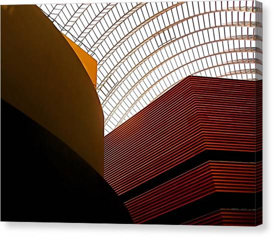 Lines And Light Canvas Print