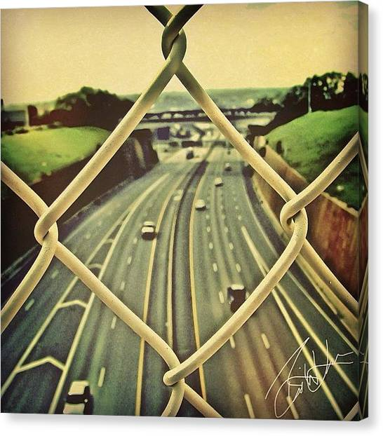 Interstates Canvas Print - Linked by Brian Lea