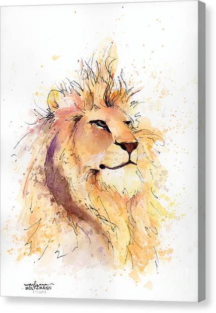 Lion 3 Canvas Print