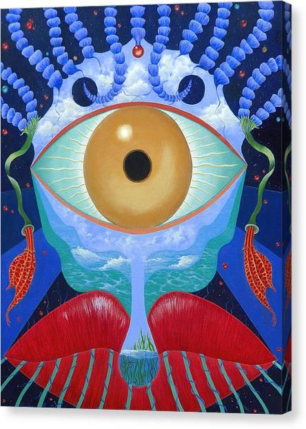 Lip Sync Canvas Print by Sharon Ebert