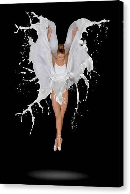 Toes Canvas Print - Liquidize by Pauline Pentony Ba