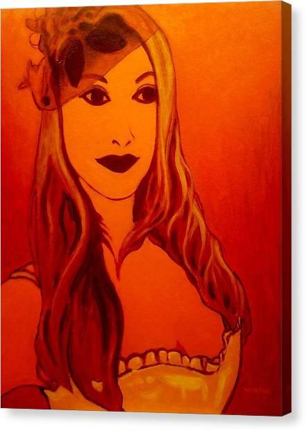 Boa Constrictors Canvas Print - Lisa Darling II - The Irish Burlesque School by John  Nolan