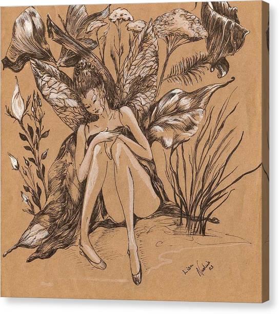 Lisanthius Canvas Print