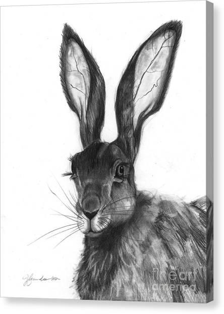 Listening Ears Canvas Print by J Ferwerda