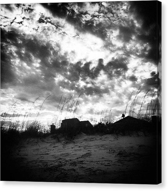 White Sand Canvas Print -   by Megan Kenyon
