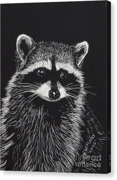 Little Bandit Canvas Print