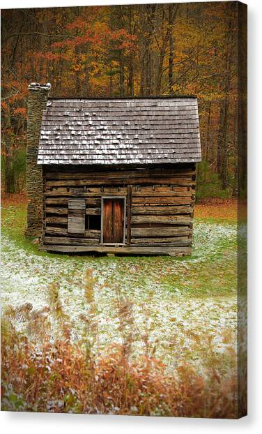 Little Cabin Canvas Print