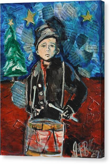 Little Drummer Boy 2009 Canvas Print by Jon Baldwin  Art