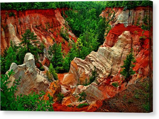 Little Grand Canyon 2 Canvas Print