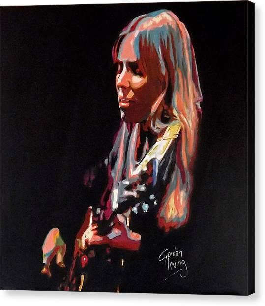 Joni Mitchell Canvas Print - Little Green by Gordon Irving