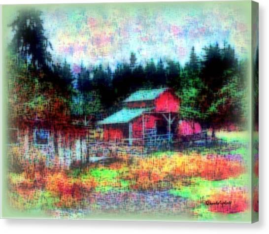 Little Heaven Canvas Print
