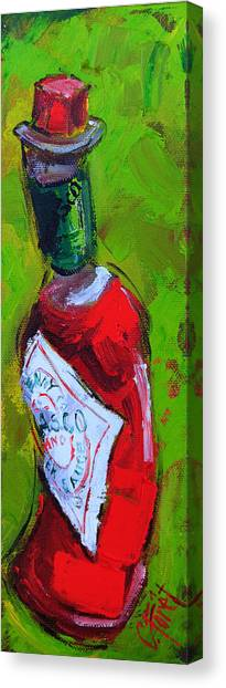 Bloody Mary Canvas Print - Little Hot by Carole Foret