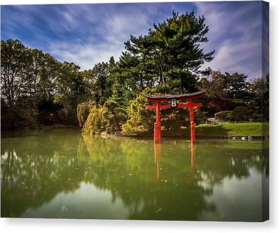 Little Japan Canvas Print by Johnny Lam