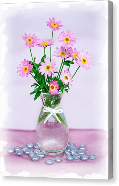 Little Pink Flowers In A Vase Photograph By Natalie Kinnear