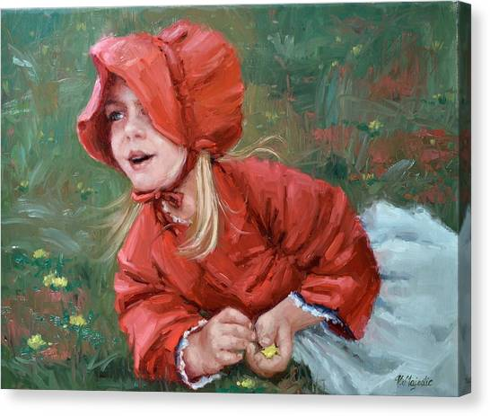 Little Red Ridinghood  Canvas Print