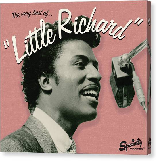 Rock Music Canvas Print - Little Richard -  The Very Best Of by Concord Music Group