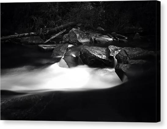 Little River Cauldron Canvas Print