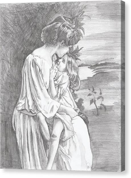 Little Sara Canvas Print
