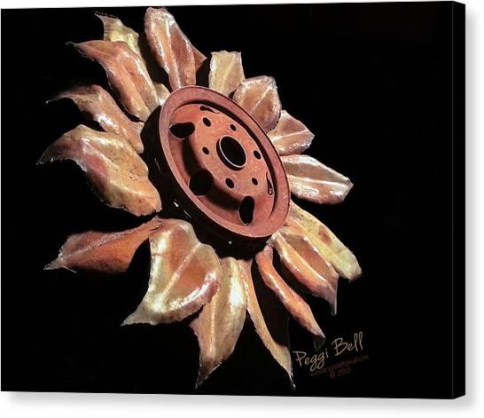 Little Sunflower Canvas Print