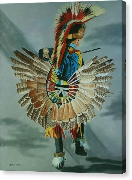 Little Warrior Canvas Print