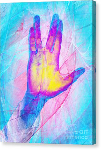 Star Trek Canvas Print - Live Long And Prosper 20150302v1 by Wingsdomain Art and Photography