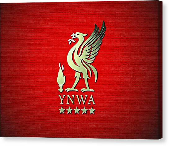 Liverpool Fc Canvas Print - Liverpool You'll Never Walk Alone by Florian Rodarte