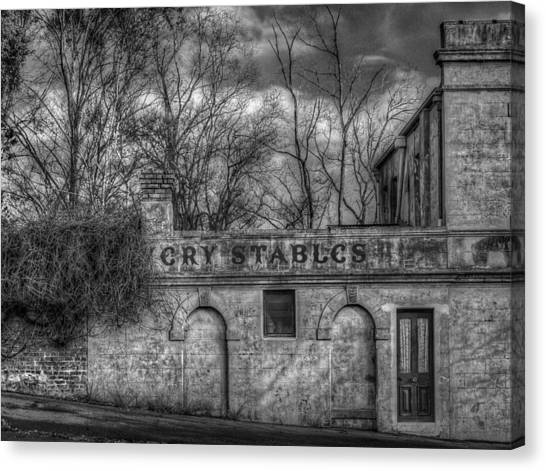 Livery Stables Canvas Print