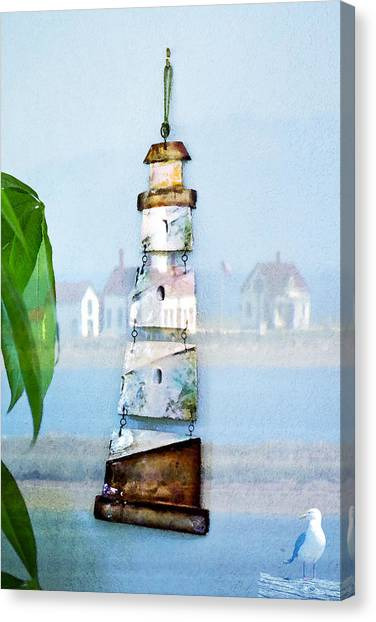 Living By The Sea - Pacific Ocean Canvas Print