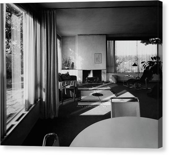 Living Room In Mr. And Mrs. Walter Gropius' House Canvas Print