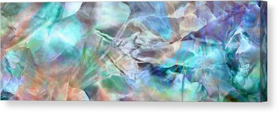 Living Waters - Abstract Art Canvas Print