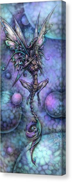 Lizard Corpse Canvas Print by David Bollt