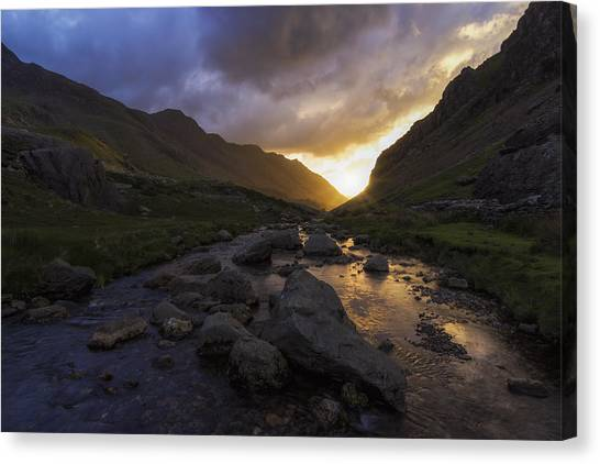 Llanberis Pass Canvas Print